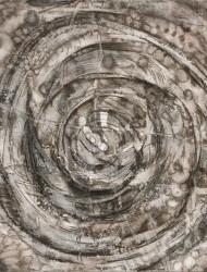 Wildwuchs 14 45x45 cm Tusche auf Papier 2018
