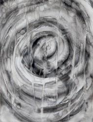 Wildwuchs 6 36x25 cm Tusche auf Papier 2018